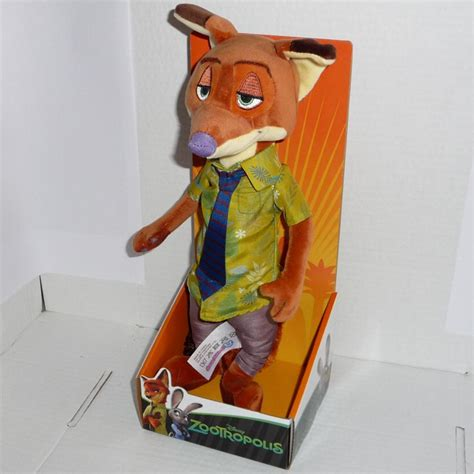 Boneka Finnick Zootopia Original Disney zootropolis plush big 28cm choose your character original disney nick judy peluche apecollection