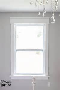 Bathroom Curtains For Windows Ideas Diy Window Trim The Easy Way