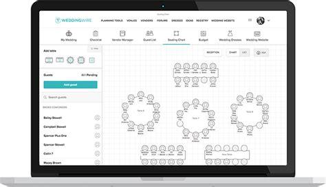 free online wedding seating chart maker design a custom wedding