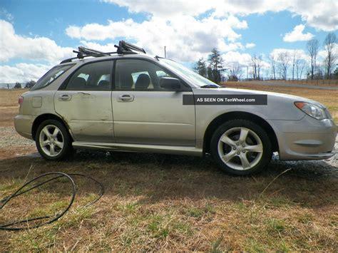 subaru hatchback 2007 2007 subaru impreza 2 5i wagon 4 door 2 5l