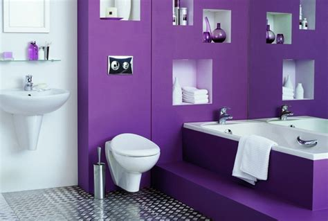 purple and white bathroom purple bath to promote intimacy and relaxation room