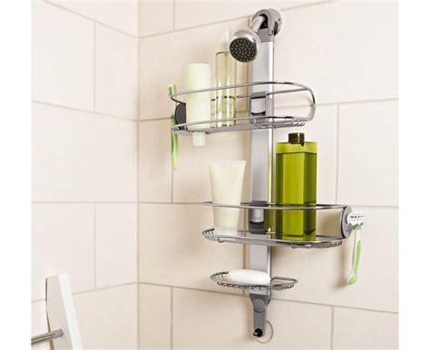 bathroom caddy ideas bathroom simplehuman adjustable stainless steel shower caddy organizer 5 year warranty