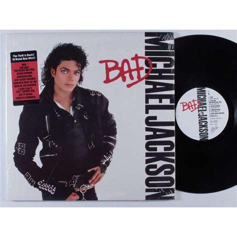 michael jackson bad vinyl original michael jackson bad by michael jackson bad lp with