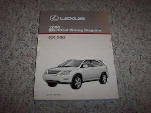 electric and cars manual 2006 lexus is electronic valve timing 2006 lexus rx330 rx 330 factory original electrical wiring diagram manual book ebay