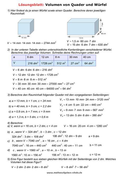 Arbeitsblatt Mathe Klasse 5