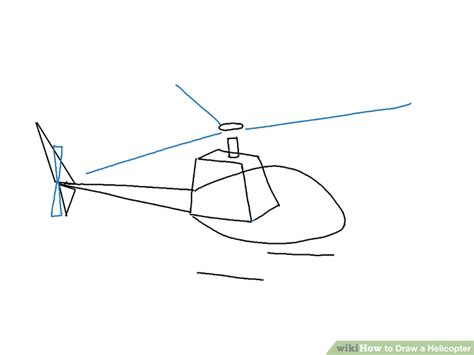 Helicopter Drawing Easy