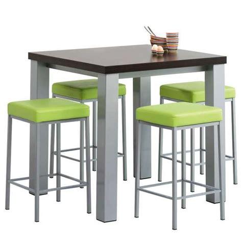 table de cuisine carree table de cuisine snack carr 233 e en stratifi 233 quadra 4