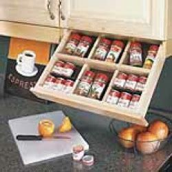 Drop Spice Rack by Plans To Build Cabinet Drop Knife Storage Pdf Plans