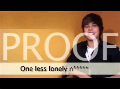One Less Lonely Says Biebers Baby by Justin Bieber 1 2014 Jokes About The Kkk In A Song
