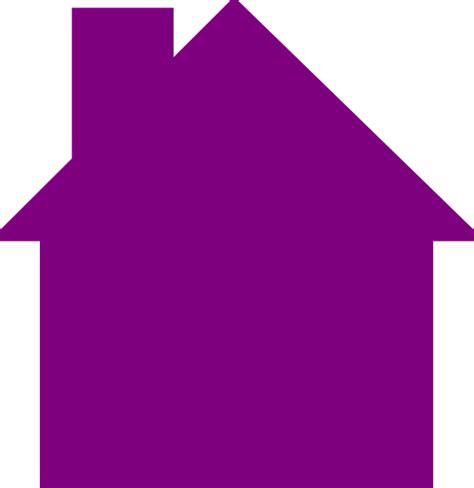 House Logo House Logo Purple Clip At Clker Vector Clip