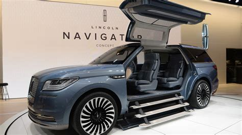 New Lincoln Concept by Lincoln Reignites The Navigator With Bold Concept Autoblog