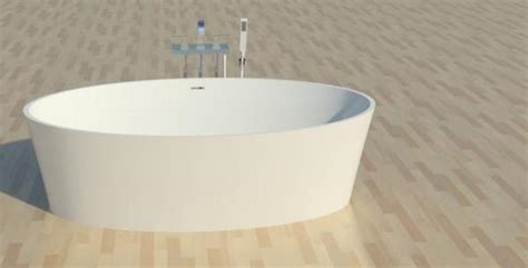 Bathtub Revit by Revitcity Object Bathtub Oval Wetstyle Bov01 66