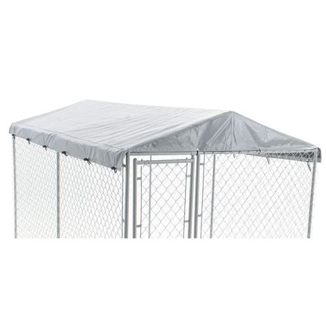 kennel roof american kennel club 6 ft x 10 ft universal roof 308607akc the home depot