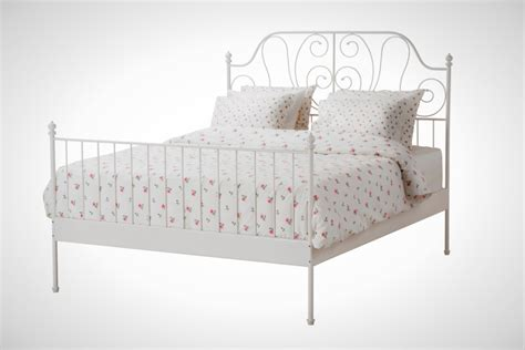Bed Bigland Flora White bedroom drop dead gorgeous furniture for bedroom decoration using white iron
