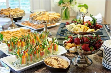 Buffet Food Ideas For Baby Shower by Baby Shower Menu Ideas Baby Shower Ideas