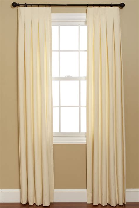 box pleat curtains curtainsmade4u inverted box pleat curtain custom curtains