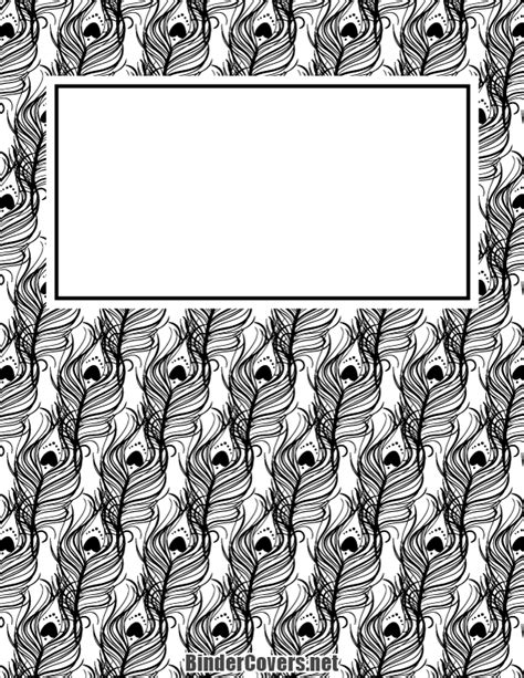 black and white binder cover templates the 25 best ideas about school binder covers on