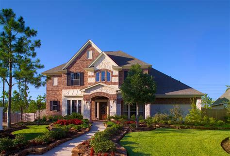 newmark homes magnolia plan traditional exterior