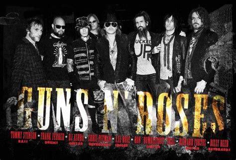biografia cada uno integrantes guns n roses 2013 rock nordeste