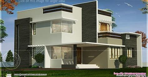 400 yard home design 1800 square feet box type exterior home home kerala plans
