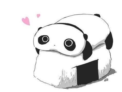 panda mangas panda kawaii chibi sushi