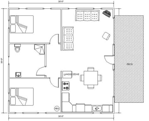 home design 30 x 30 20x30 cabin floor plans joy studio design gallery best