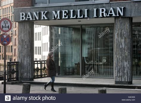 bank melli hamburg a walks past the bank melli iran branch office in