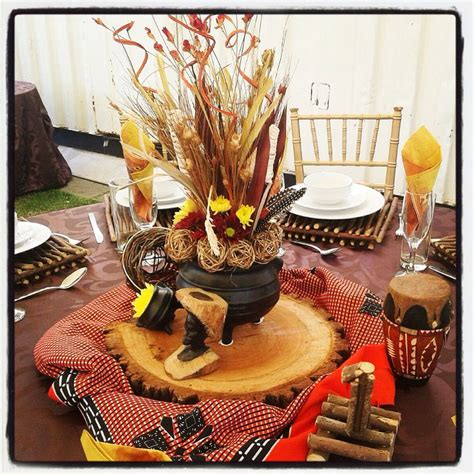 African Safari Home Decor by Traditional African Wedding Centerpieces And Decor Www
