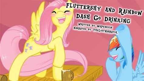human rainbow dash x reader lemon fluttershy and rainbow dash go drinking mlp fanfic