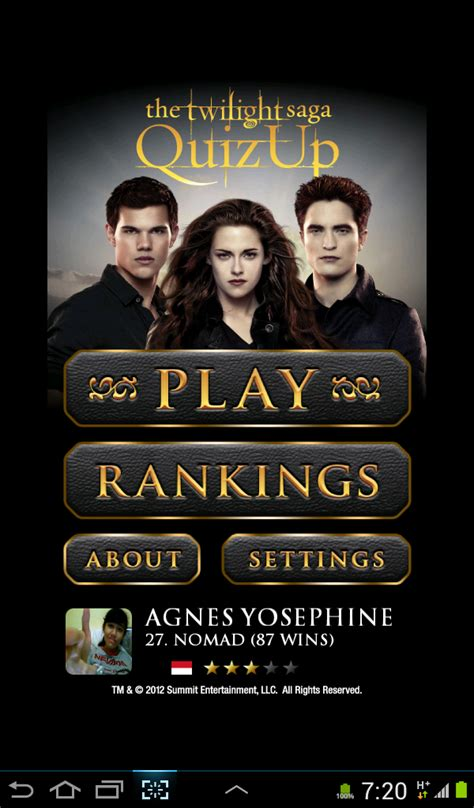 quizup film movie music etc try the twilight saga quizup test