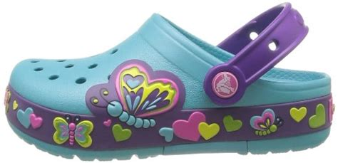 Crocs Butterfly Led crocs butterfly ps light up clog toddler kid