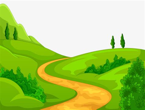 trail clipart advantage trail mountain green png image and