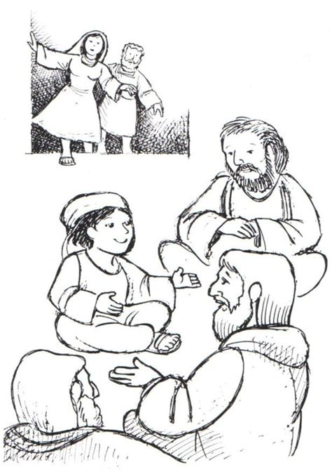 Jesus At The Temple As A Boy Coloring Page Free Boy Jesus In The Temple Coloring Page Coloring Home by Jesus At The Temple As A Boy Coloring Page Free