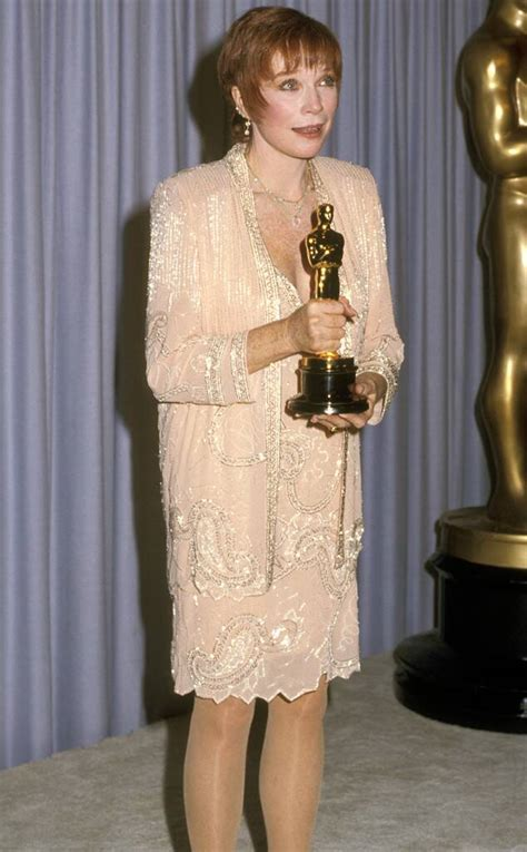 Shirley MacLaine from 50 Years of Oscar Dresses: Best