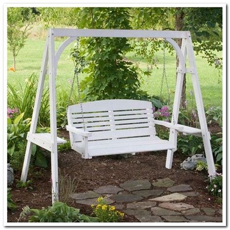 patio swing frame diy porch swing frame backyard pinterest swings