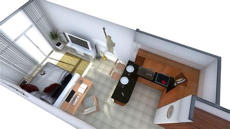 studio apartment layout arrangement arranging furniture in studio apartment room windows
