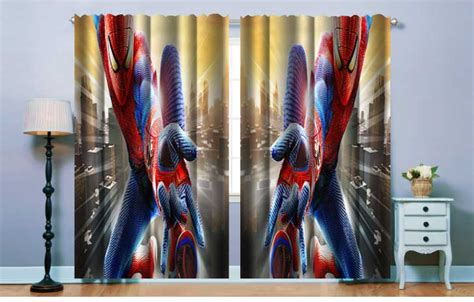 spiderman curtains fabric curtains curtains spiderman curtains was listed