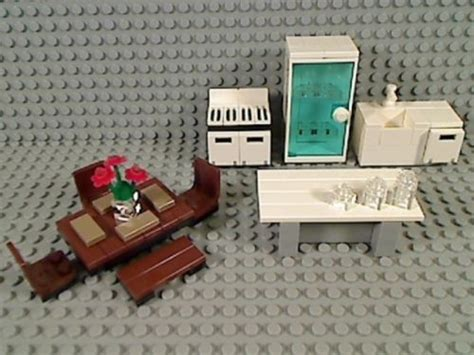 lego tutorial furniture lego kitchen refrigerator sink dishwasher stove island