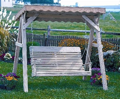 how to build a wooden swing frame woodworking projects