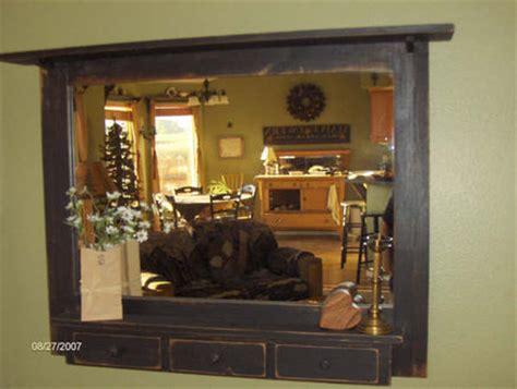 primitive bathroom mirrors primitive wall mirror by gbvinc lumberjocks