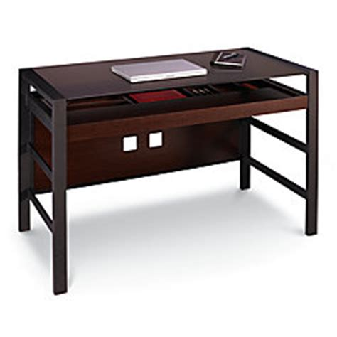 jasper desk office depot realspace crosswick desk espresso by office depot officemax