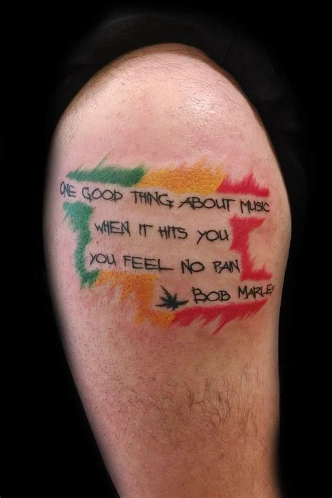 bob tattoos bob marley quote tattoos for www pixshark