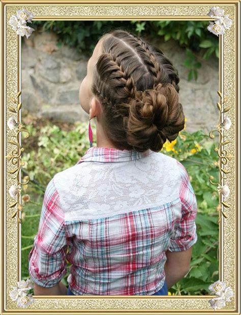 braided hairstyles   school haircuts  girls