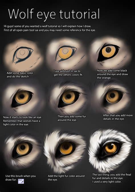 wolf eye color wolf eye tutorial by themysticwolf on deviantart