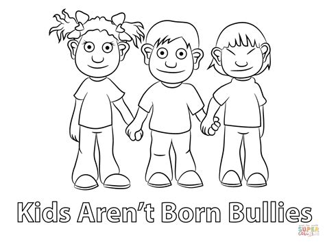 Anti Bullying Coloring Pages Coloring Pags 22495 Anti Bullying Colouring Pages