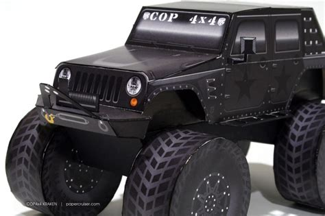kraken jeep 1000 images about papercruiser s paper models on