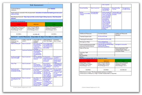 electrical risk assessment template electrical risk assessment template