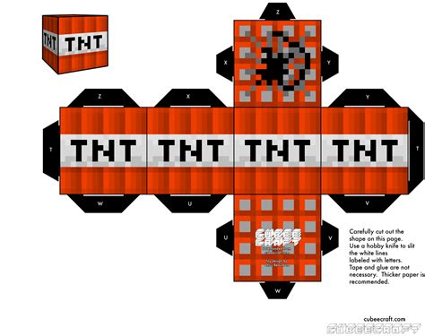 Minecraft Papercraft Tnt - pin minecraft papercraft with tags faithful door