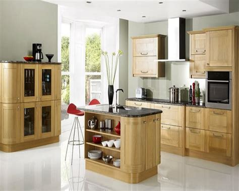 blonde cabinets kitchen wonderful kitchen d 233 cor ideas from uk