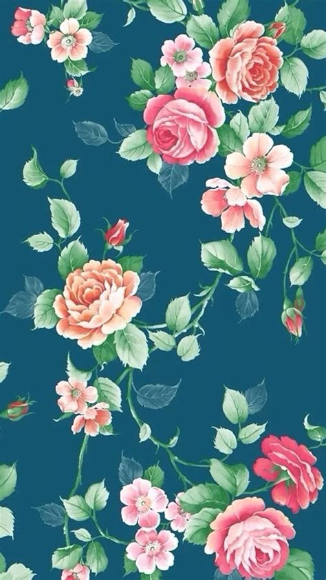 floral background iphone  wallpaper